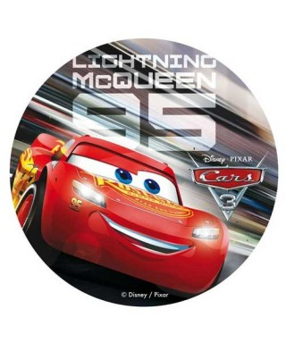 Disque azyme Cars Flash Mcqueen Disney Pixar