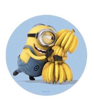 Disque azyme Minions avec ses bananes