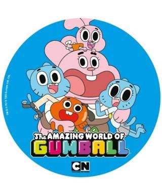 Disque azyme le monde incroyable de Gumball