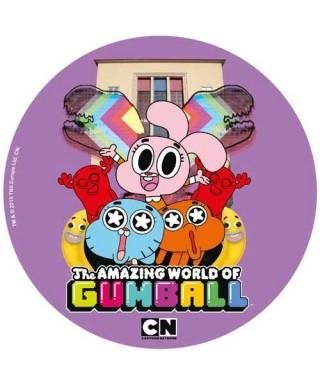 Disque azyme le monde incroyable de Gumball en folie