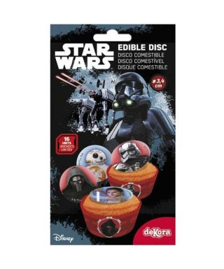 Mini Disque à cupcakes Star Wars Disney