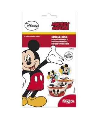 Minis Disques à cupcakes Mickey Disney