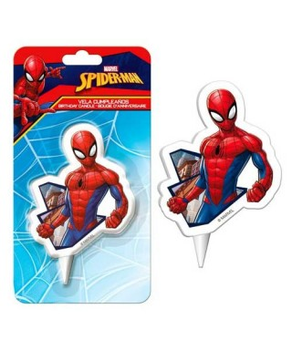 Pack bougie Spiderman 2D Marvel