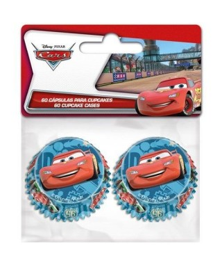 Mini Caissettes à Cupcake Cars set/60 Disney