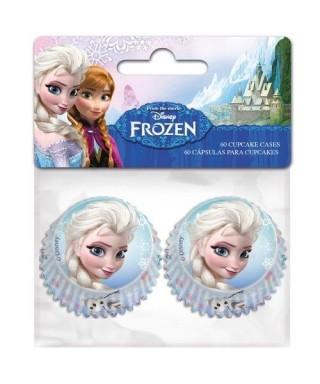 Mini Caissettes à Cupcake la reine des neiges Disney