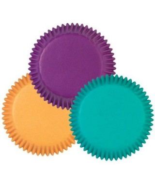 Mini caissettes à cupcakes Couleurs assorties Bijou pk/10 Wilton