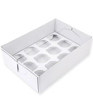Boîte à 12 cupcakes PME