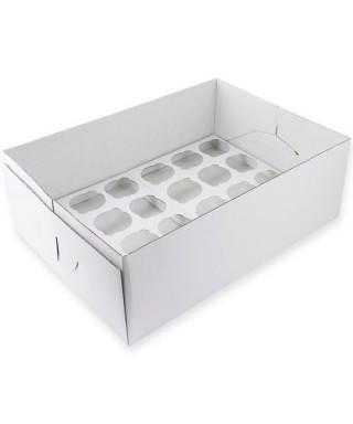Boîte à 24 cupcakes PME