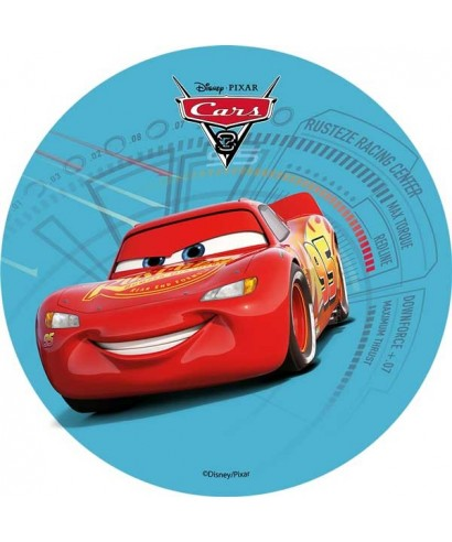 disque azyme cars 3 flash mcqueen disney pixar. Black Bedroom Furniture Sets. Home Design Ideas