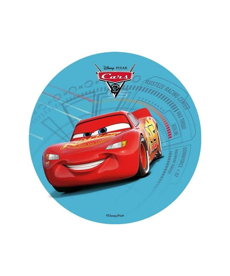 disque azyme cars 3 flash mcqueen disney pixar. Black Bedroom Furniture Sets. Home Design Ideas