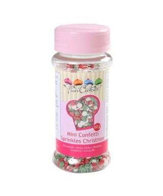 Mini Confetti mix Noël 60g FunCakes
