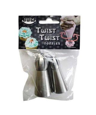 Douille Twist Twist Set/2  (18T & 19T) Jem