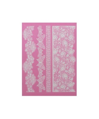 Tapis Dentelle Madame Butterfly Cake Lace