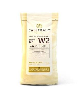 Chocolat Blanc 28 % Callebaut