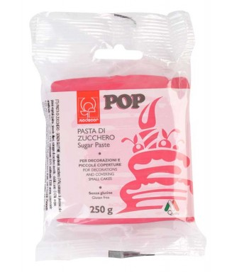 Pâte à sucre POP Rose fushia 250gr Modécor
