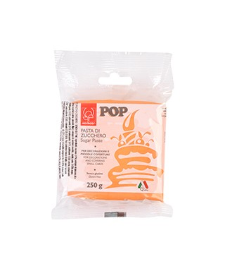 Pâte à sucre POP Orange 250gr Modécor