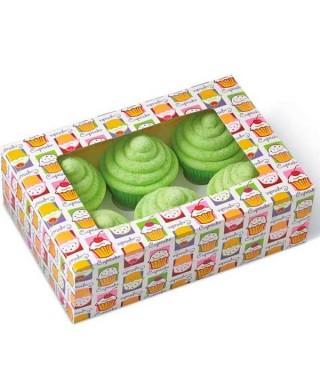 Boîte pour 6 Cupcakes Wilton pk/2