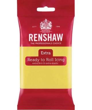 Pâte à sucre EXTRA Jaune Pastel 250g Renshaw
