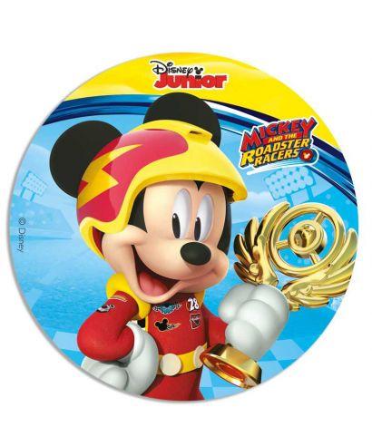 Disque pâte à sucre Mickey et ses amis top départ !