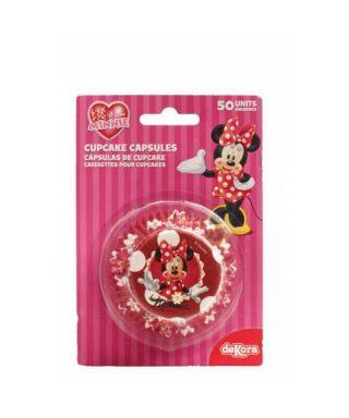 Caissettes Cupcake Minnie Disney