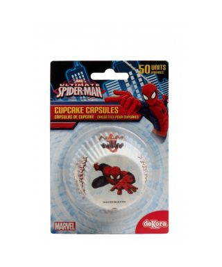 Caissettes cupcake Spiderman Marvel