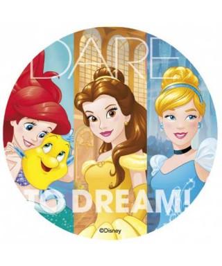 Disque Cendrillon, Belle et Ariel Princesses Disney