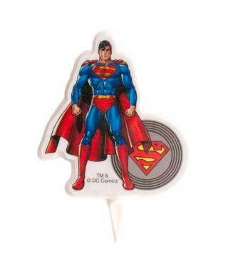 Bougie d'anniversaire Superman