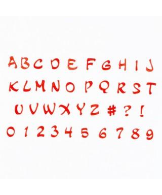 Lettres et chiffres magical FMM Sugarcraft