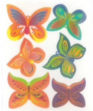 Papillons à aile pointue en azyme