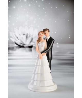 Sujet de mariage mariés romantique