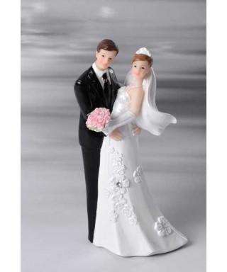 Sujet de mariage mariés 12cm