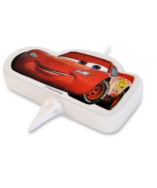 Bougie Flash McQueen Cars 2D Disney Pixar