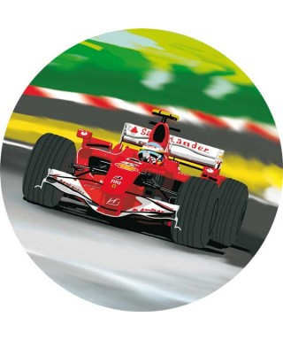 Disque Ferrari SF 16 de Formule1