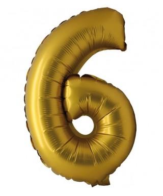 Ballon 35cm Chiffre Argent
