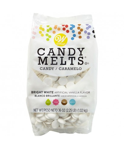 Candy Melts Blanc brillant 1Kg Wilton