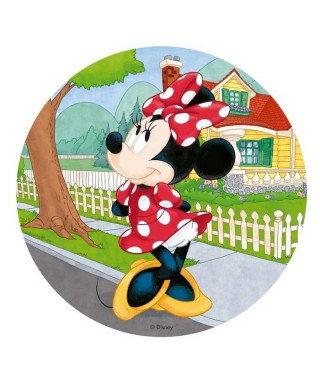 Disque Azyme Minnie Disney