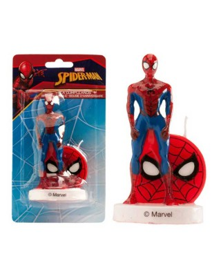 Bougie Spiderman 8 cm Marvel