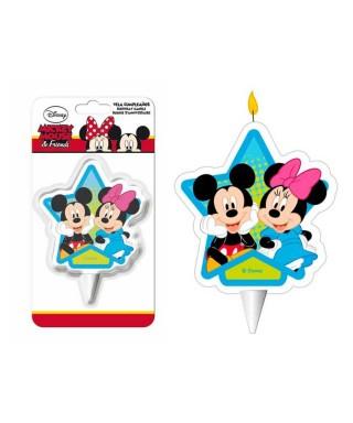 Bougie Mickey et Minnie Disney
