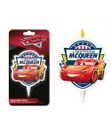 Bougie Lightning Flash McQueen Cars Disney Pixar