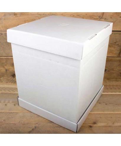 Boîte à gâteaux Blanche 52x52x70cm FunCakes