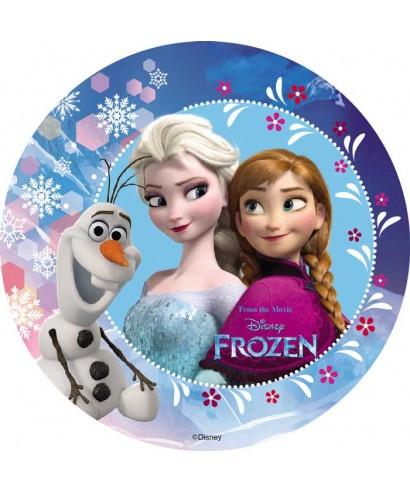 Disque Elsa, Anna et Olaf la reine des neiges, Disney