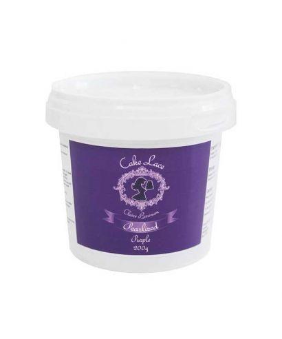 Dentelle alimentaire Violet 200 gr prête à l'emploi Cake Lace