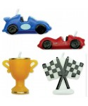 Bougie voiture de course Set/4 PME