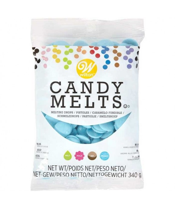 Wilton Candy Melts Bleu 340G