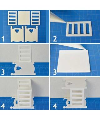 kit d'emporte-pièces berceau de FMM Sugarcraft