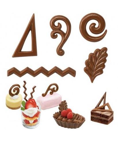 Moule Candy Melts Dessert Accents Wilton