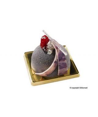 Moule plaque silicone demie-sphère ø70 H 35 MM Silikomart