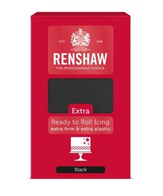 Pâte à sucre EXTRA Noir 1kg Renshaw
