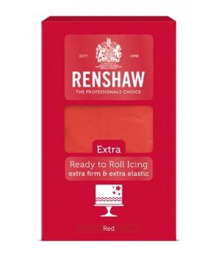 Pâte à sucre EXTRA Rouge 1kg Renshaw