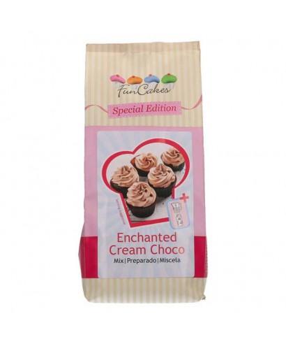 Préparation pour crème enchantée Chocolat 450g FunCakes